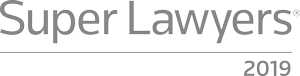 Super Lawyers 2018 Award